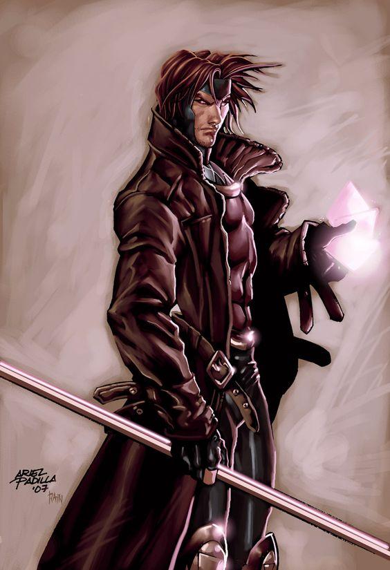 Gambit!! One of my favorite superheroes!!
