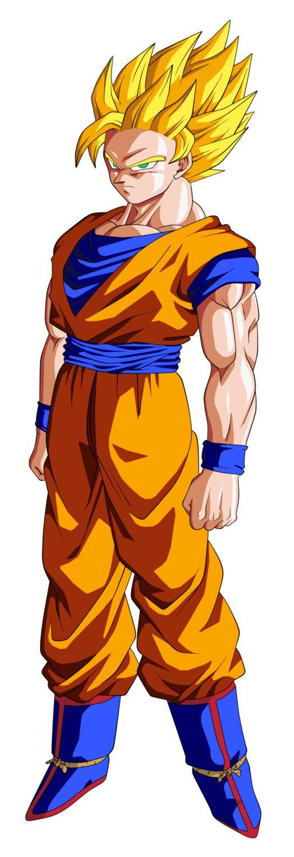 Goku SSJ2 by BardockSonic on deviantART