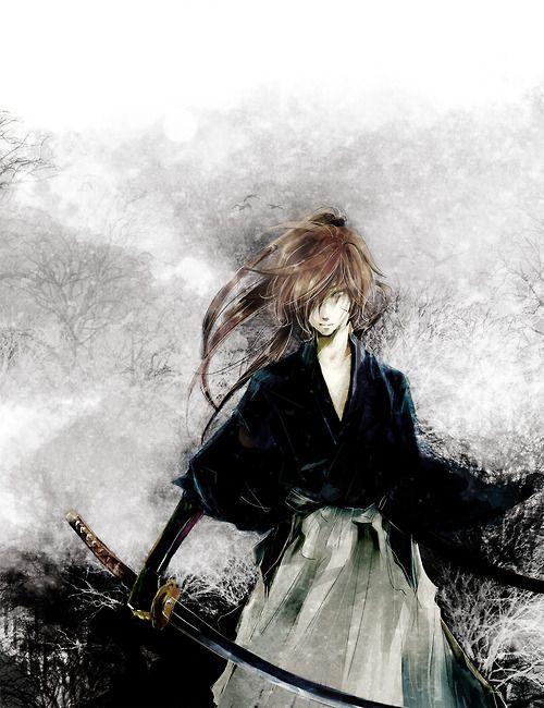 Gorgeous kenshin fanart!! ♥