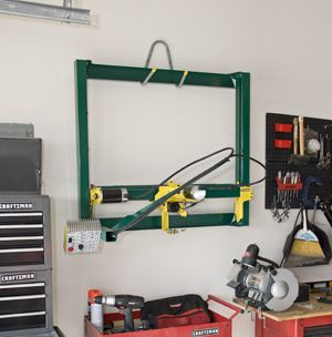 GoTorch CNC plasma cutting system hung on the wall