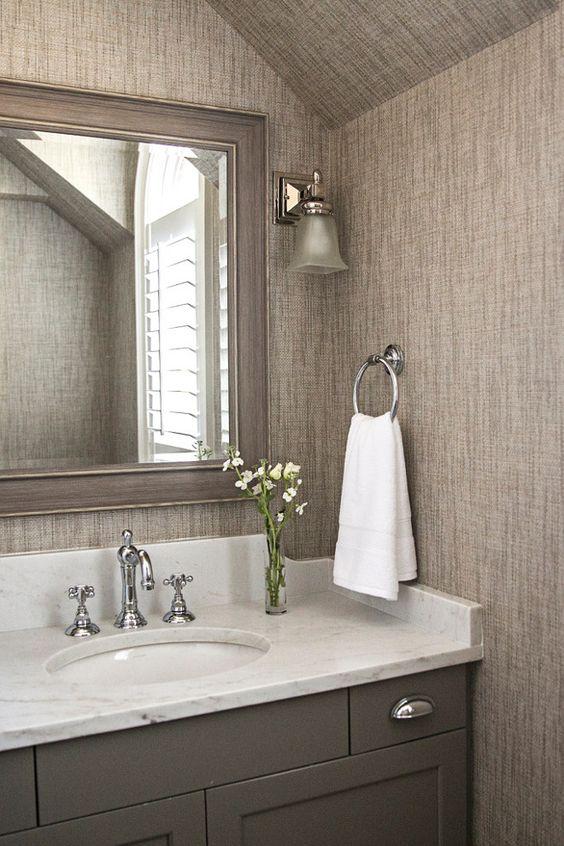 Gray bathroom cabinet paint color