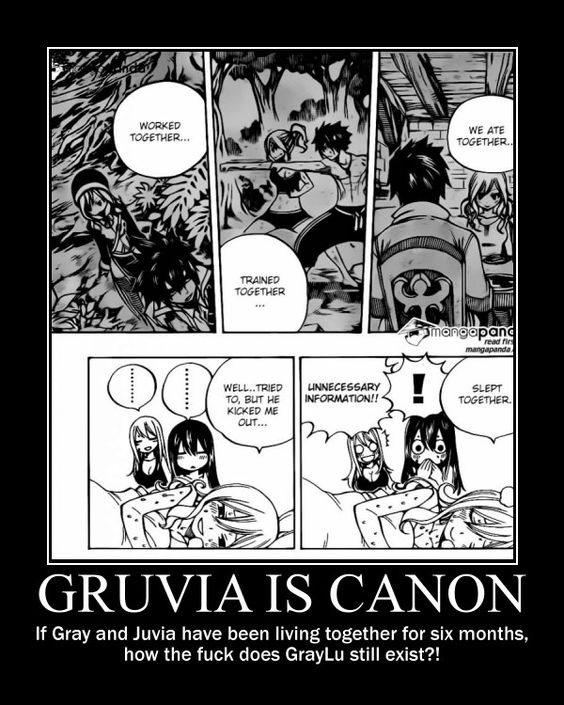 Gruvia Lemon | Gruvia is canon. GrayLu is dead. Deal with  Yess die Graylu die