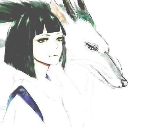 Haku-Spirited Away