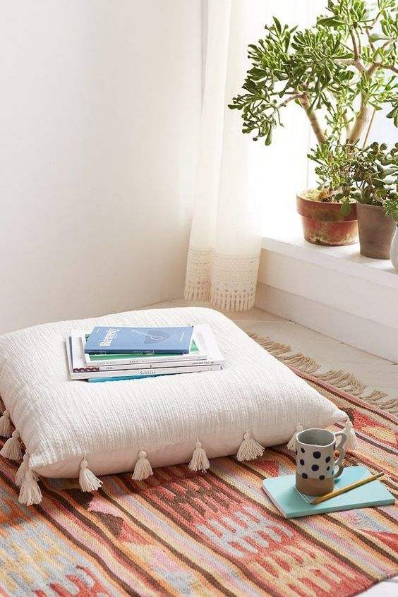 Healthy Living Space    Create a relaxing corner to meditate and decompress.
