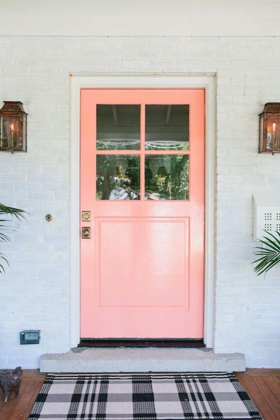 Hello pink door!