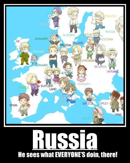 Hetalia Map