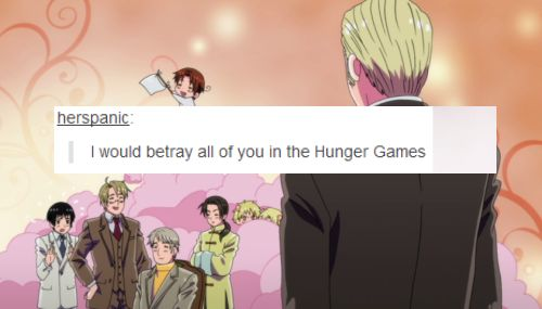 Hetalia where it shouldn't be