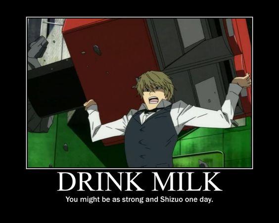 Hey Shizuo, got milk?