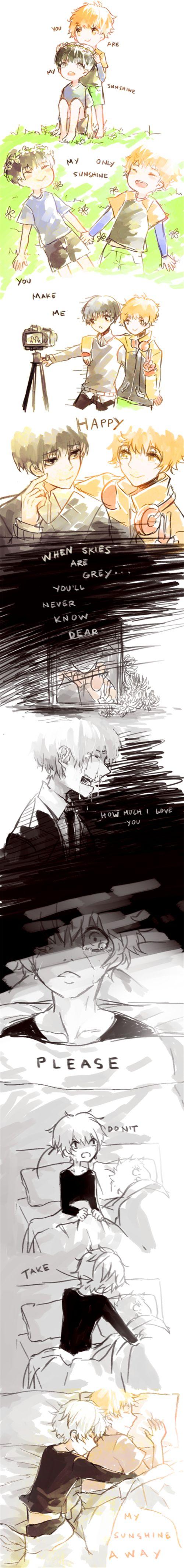 Hide and Kaneki. ^^