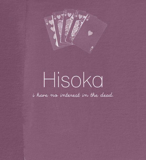 Hisoka quote