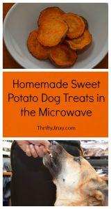 Homemade Sweet Potato Dog Treats