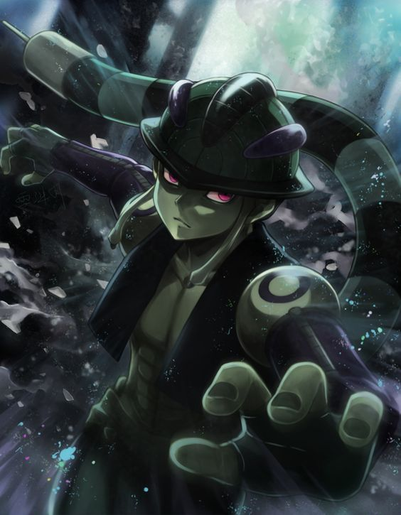 Hunter x Hunter. I really don't like this guy but its still a cool pic.