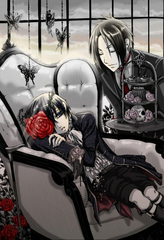 i just want to say how complicated the relationship of ciel and sebastian is sure Sebastian is his protection but in the end he will be his demise sometimes when i watched the anime i felt like Sebastian was preparing ciel adding spices and garnish and i'm sure ciel saw at times the hunger for him in Sebastians eyes I LOVE THIS ANIME SO MUCH