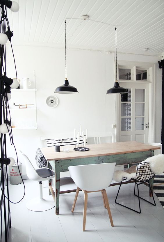 I want that table, dining room