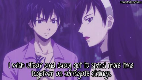 I wish Ultear and Gray got to spend more time together as surrogate siblings. – submitted by @ripplestorm