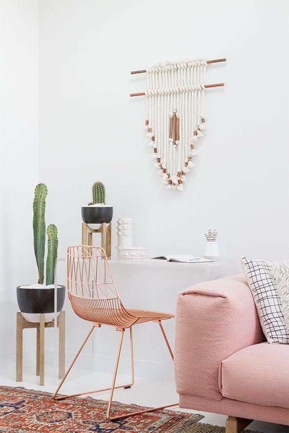 impromptu spring gathering | DIY wall hanging // @Target Style #targetstyle // Sarah Sherman Samuel