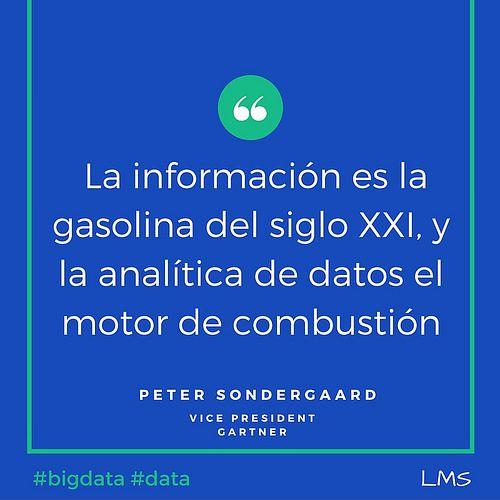 informacion gasolina del siglo XXI | Open Big Data Management