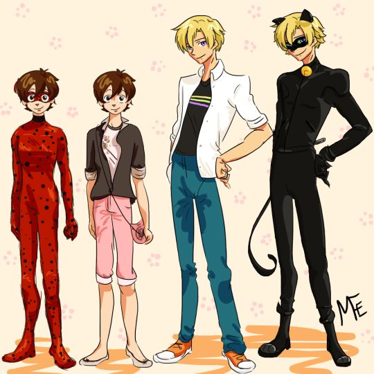 Is it just me or does Tamaki make a great Adrien/Chat Noir? I mean he is French after