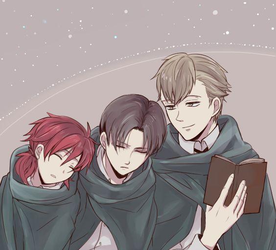 Isabel, Levi, & Farlan