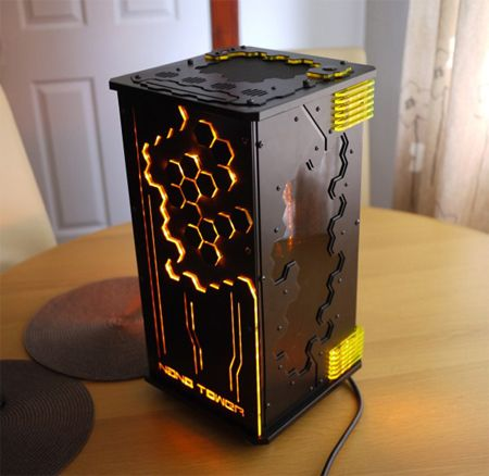 ITX SFF Gaming PC Build Nano Tower