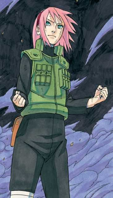 I've heard rumors about the most recent chapter, unfortunately, I don't read it, I watch the show. I've heard sakura could be hurt/dying/dead/needing to be saved. I've also heard she might finally get to kick ass. I would just like to say, if the former happens, and she doesn't kick ass at any point, I will burn kishi's house down. idgaf.