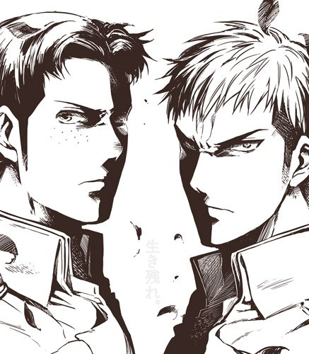 Jean and Marco (attack on titan)