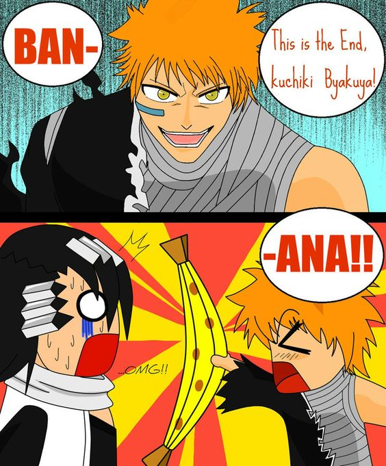 Just a little Bleach  xDD ... Bet you thought he was gunna say