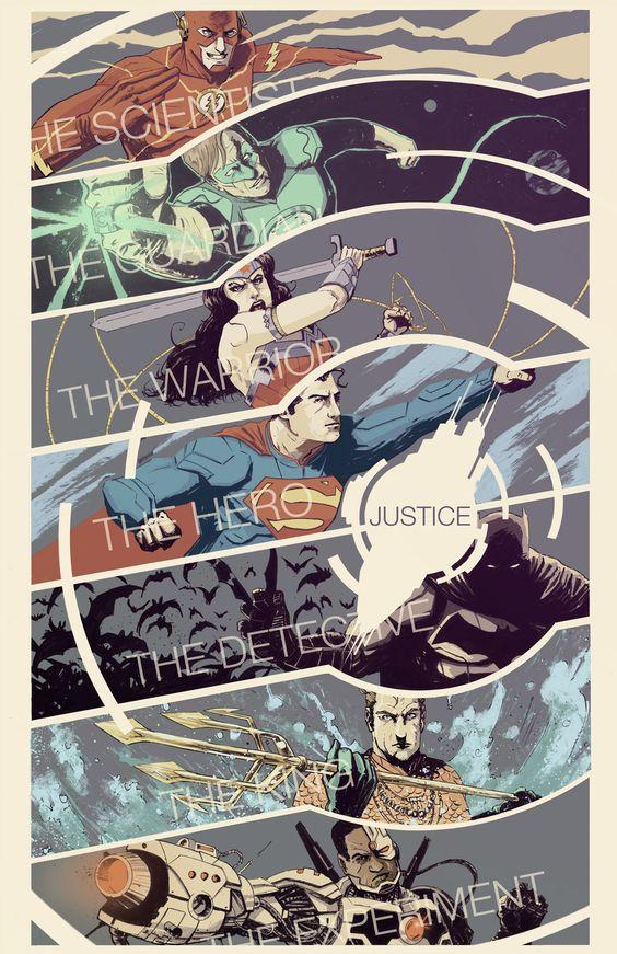 Justice League fan art