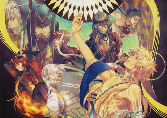 Kamigami no Asobi - so glad i saw this picture, led to a good anime