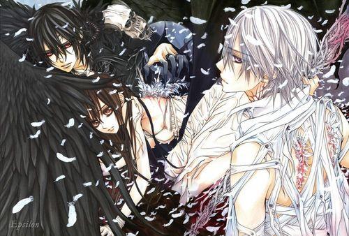 Kaname, Yuki and Zero. - Vampire Knight Photo (25514884) - Fanpop