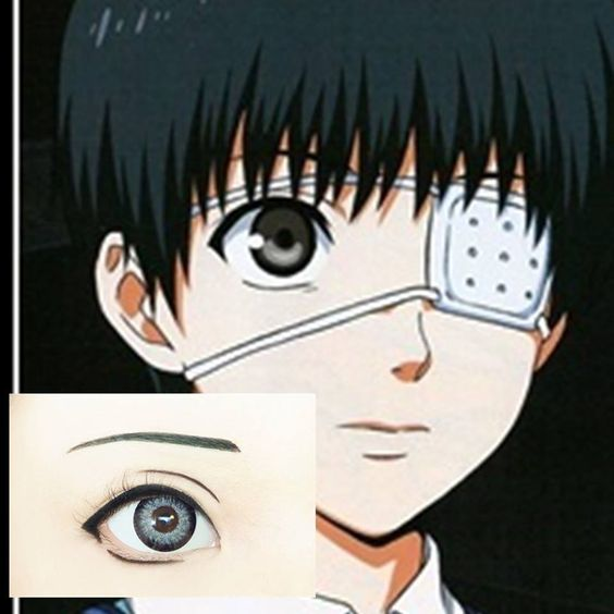 Kaneki from Tokyo Ghoul - 19 Anime Make Up Tutorials to Change How You Cosplay Forever