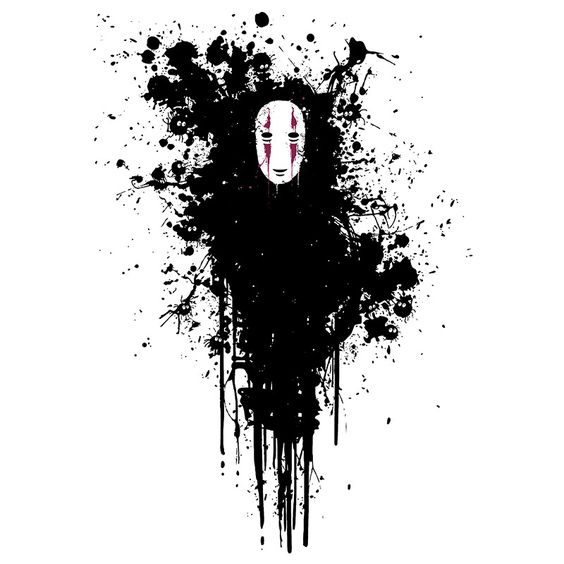 Kaonashi,No-Face - Spirited Away,Studio Ghibli