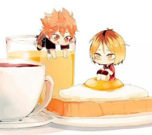Kenma and Hinata // Haikyuu!