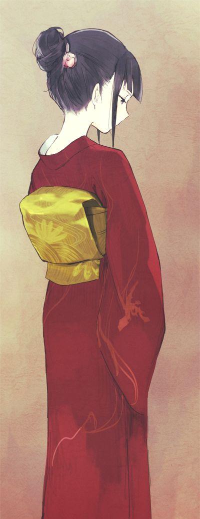 kimonos are so pretty but they make zero since