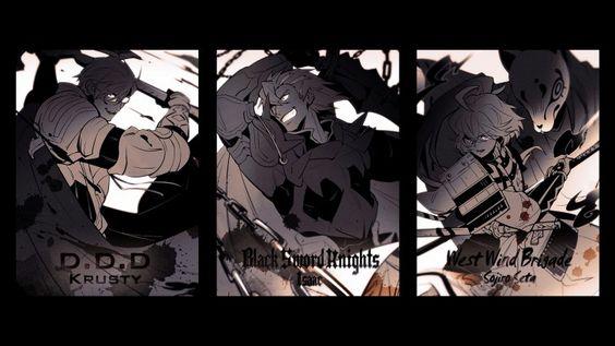 Krusty Isaac Soujiro Seta Log Horizon Anime Picture 1920x1080