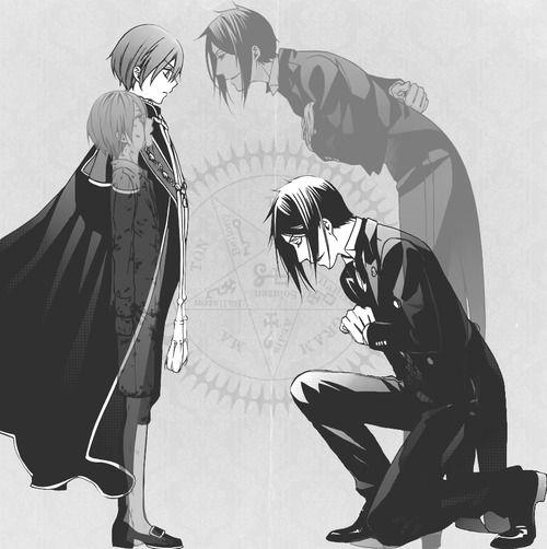 Kuroshitsuji Tumblr | kuroshitsuji ciel phantomhive sebastian michaelis black butler