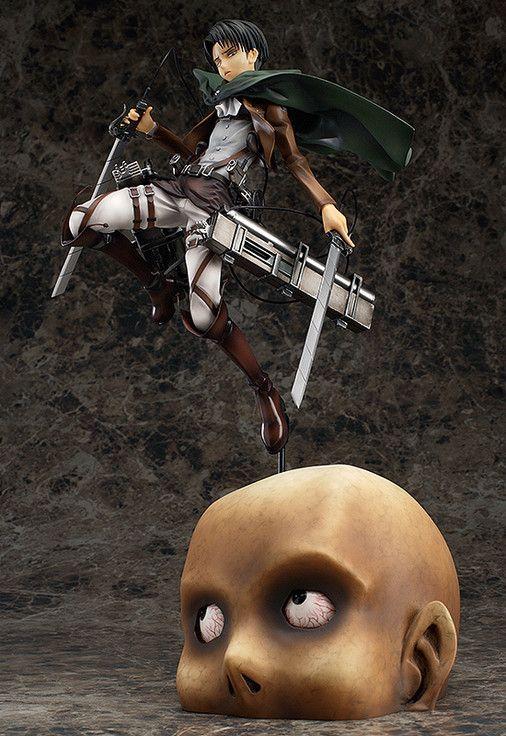 Levi 1/8th Scale Figure Attack on Titan