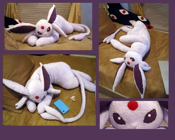 Life Size Espeon Plush by ~Sareii on deviantART | O melhor do mundo dos animes: