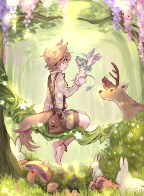 little forest by shouu-kun on DeviantArt