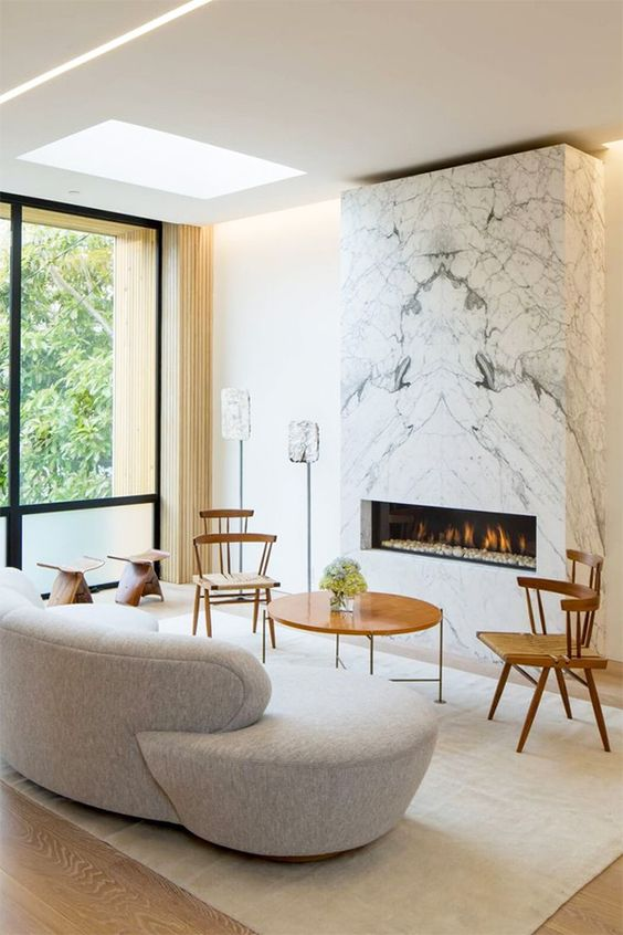 #livingroom #fireplace   Interiors by Jacquin