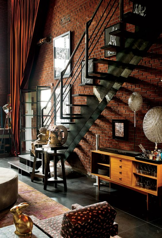 Loft love & brick walls