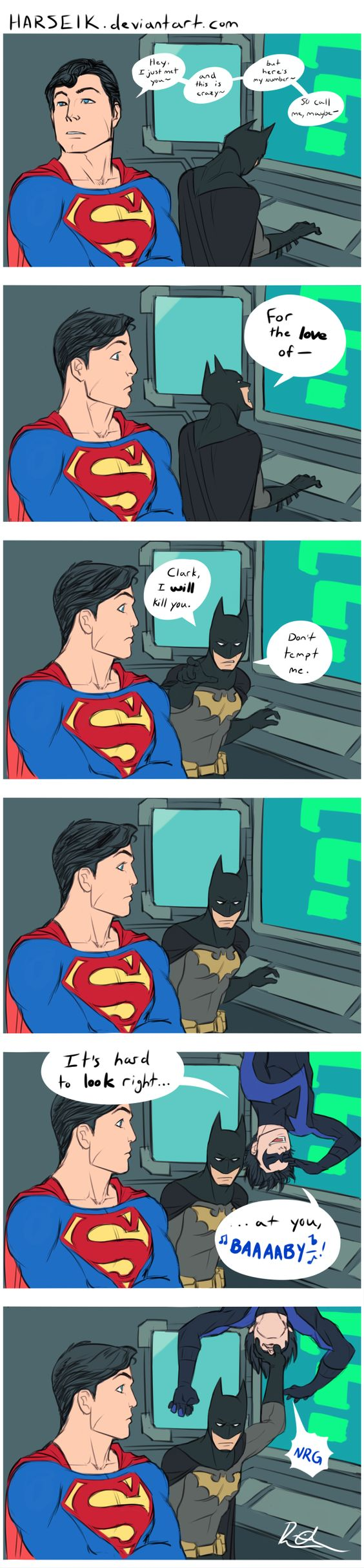 LOL Dick Grayson for the win!