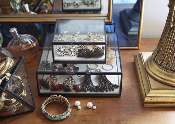 Love Glass Boxes - 20 Things People With Clean Apartments Always Do - Lonny