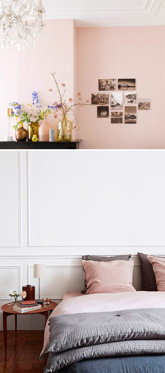 Lovely blog on colour from @sfgirlbybay / victoria smith - blush pink decor accents