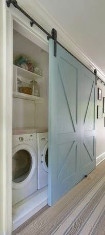Lovely laundry room!