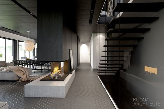 Luxury Styles: 6 Dark and Daring Interiors