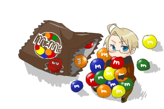 M M's by ar - Hetalia - America / Alfred F. Jones M 's are tasty I always make a wish on the green ones