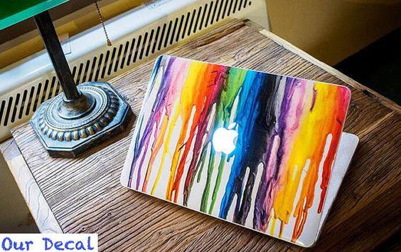 Macbook decal Macbook Sticker Macbook Skin Macbook Pro by OurDecal, $