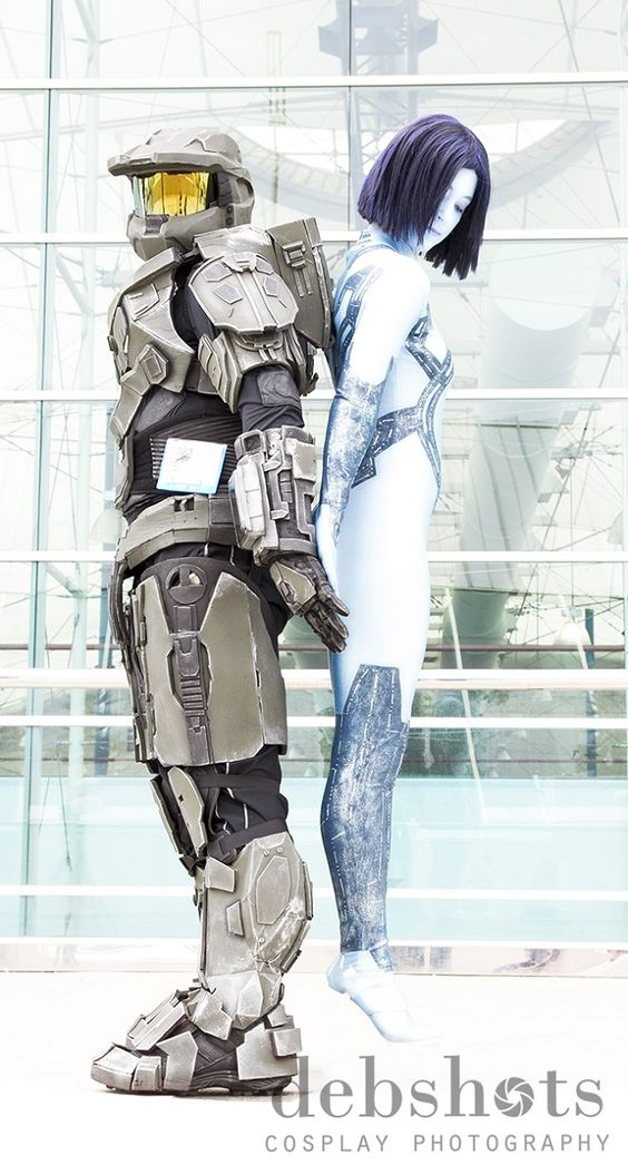 Master Chief/Cortana (Halo) ~ Cos Play