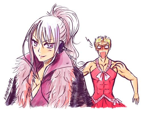 Mira dressed as Luxus and Luxus dressed like  lol